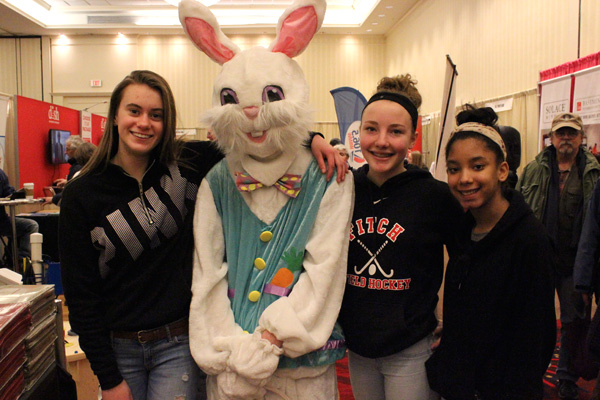 Easter Bunny at the Home Show
