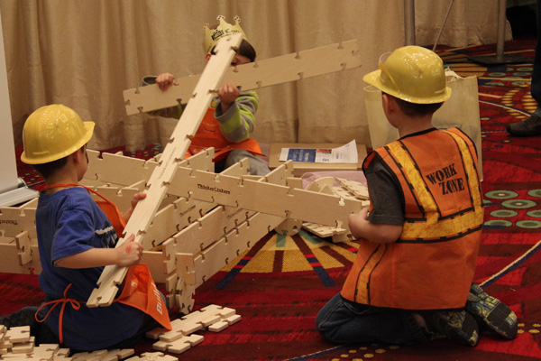 Building Workshops for kids