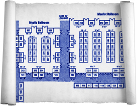 Home Show Booth Map
